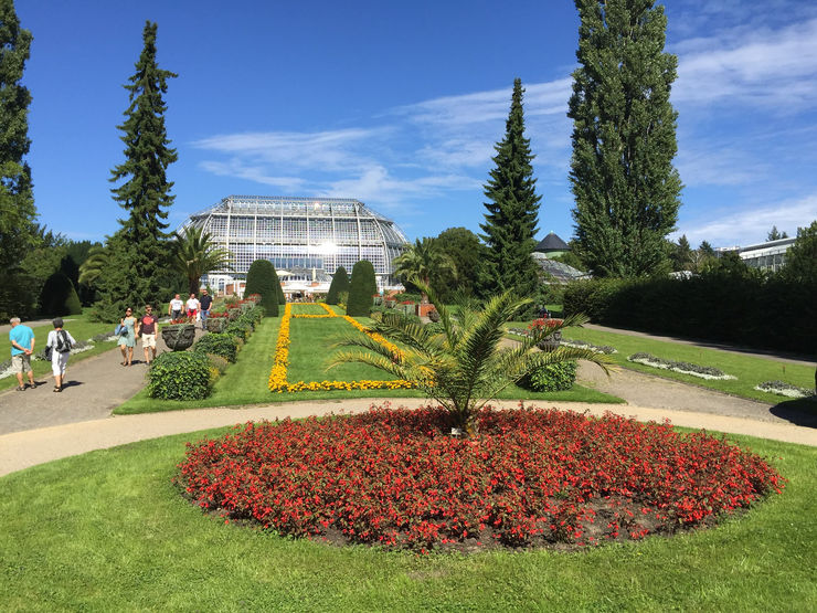Berlin-Dahlem-Botanical-Garden and the Tropical Greenhouse