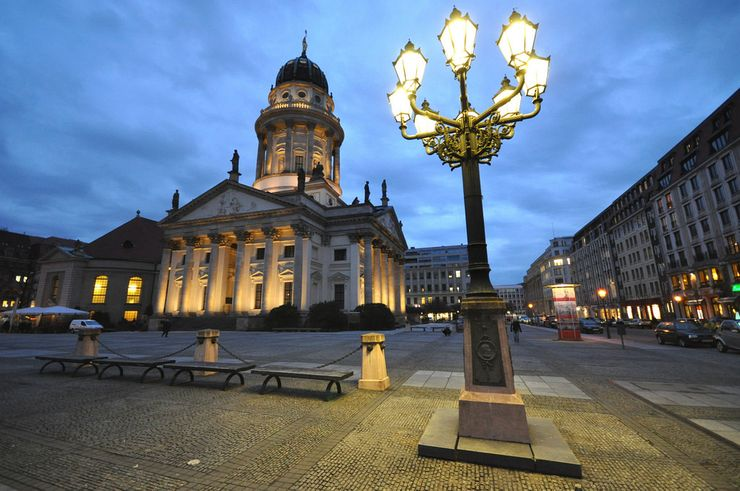 French Cathedral at Gendarmenmarkt Square