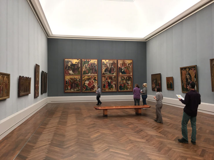 Inside the Gemaldegalerie Art Gallery