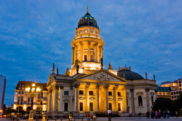 German Cathedral at Gendarmenmarkt Square