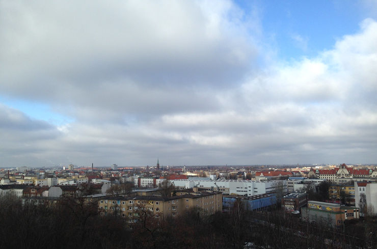 View of Berlin from Humboldthain Park