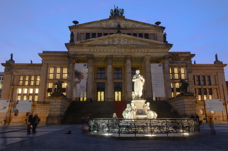 Konzerthaus at Gendarmenmarkt in Berlin