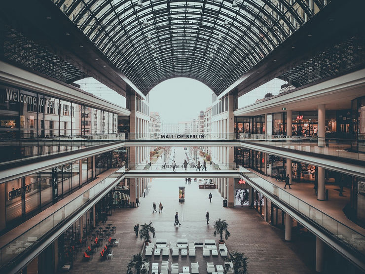 Inside the Mall of Berlin