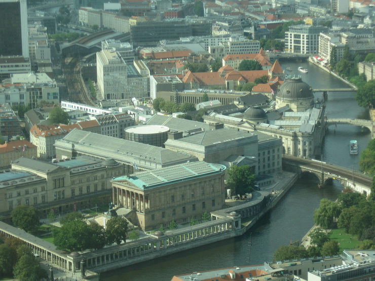 Aerial View of Museum Island