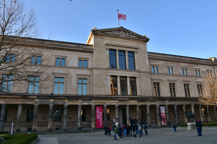 Neues Museum - One of the five museums on Museum Island