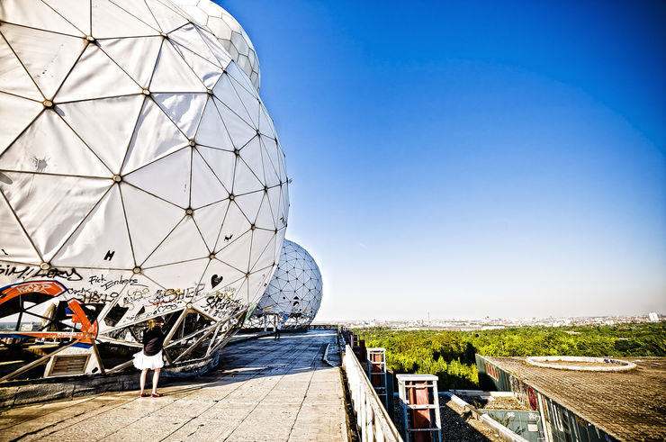 View from Teufelsberg