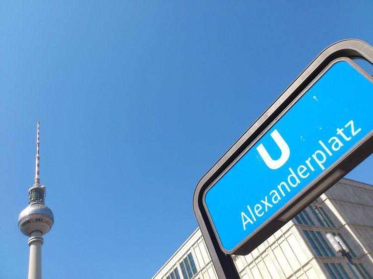 U-Bahn Station Sign