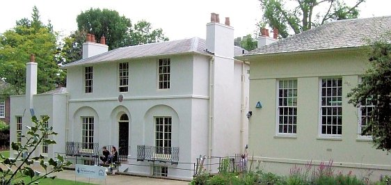 The Hampstead Home of Famous Poet John Keats