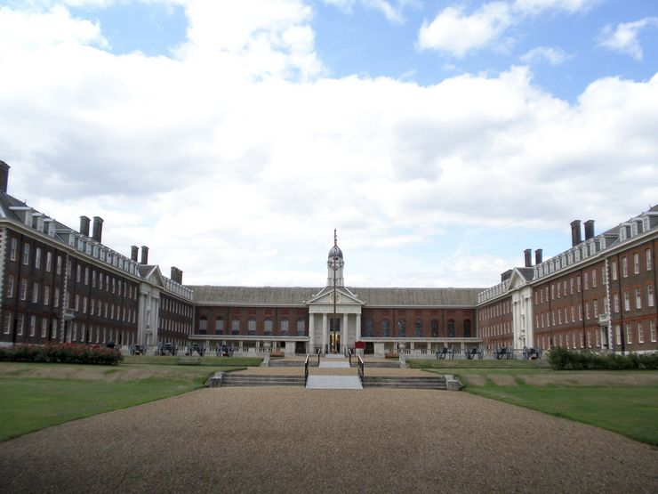 Courtyard of the Chelsea Royal Hospital