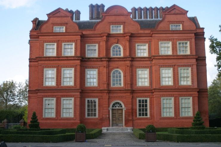 Kew Palace in the Kew Gardens is the Smallest of the Royal Palaces