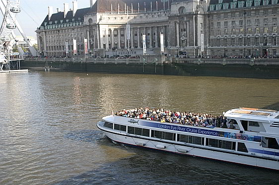 One of Many Tours available on the River Thames