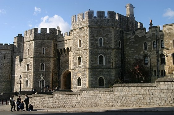 700 year old stonework of Windsor Castle
