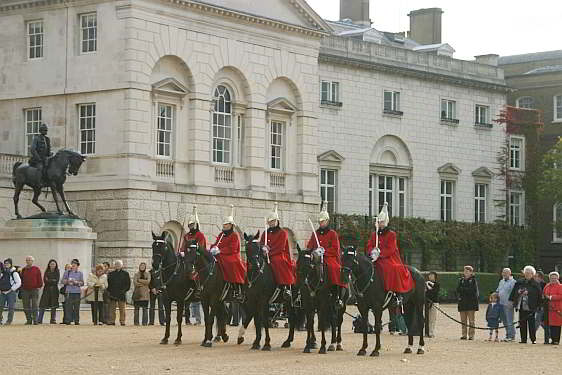 East facade of Horse Guards Building and Parade