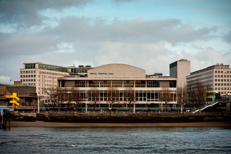 The Royal Festival Hall on the Southbank