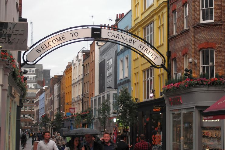 Carnaby Street - One of London's Abundant Shopping Districts