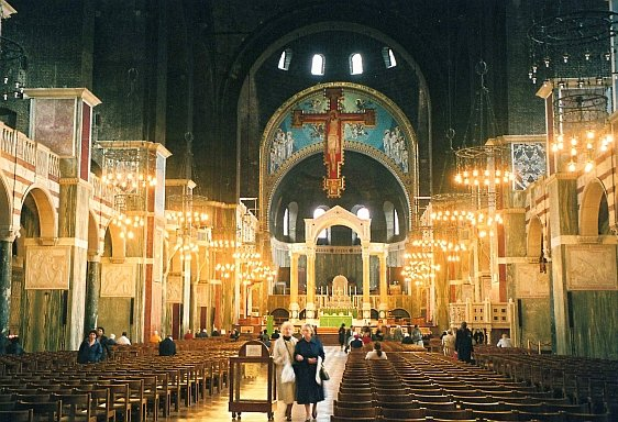 The Beautiful Interior of Westminster Cathedral