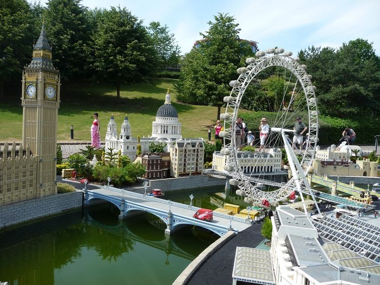 A Miniature Version of London in Legoland