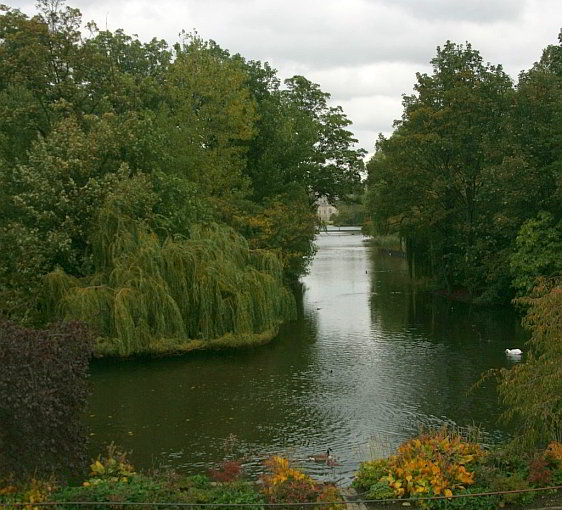 Lake and Island in St. James's Park