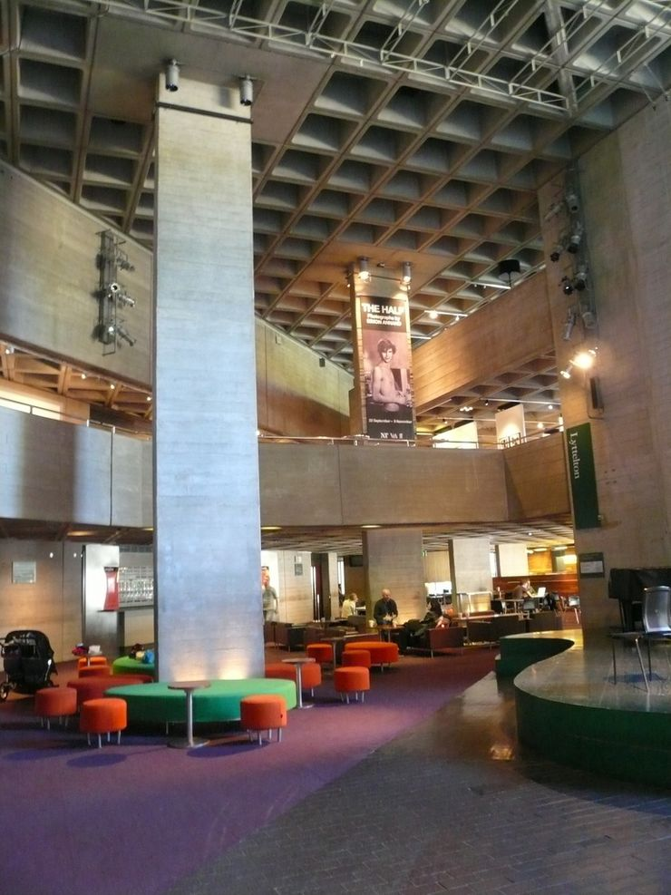 Foyer inside the National Theatre