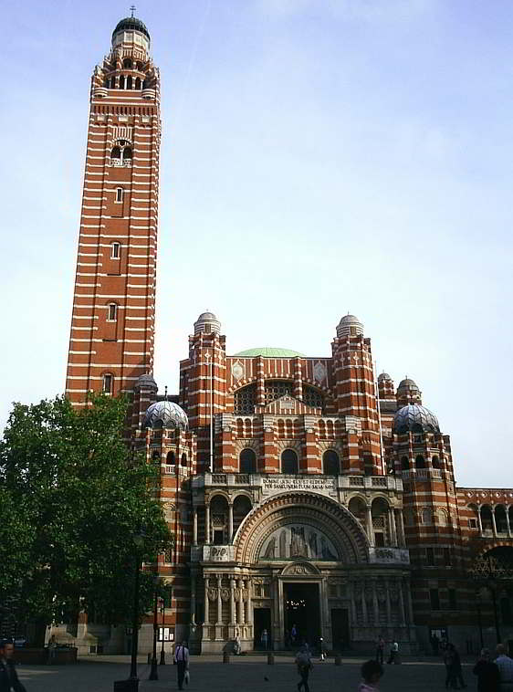 Exterior of Westminster Cathedral