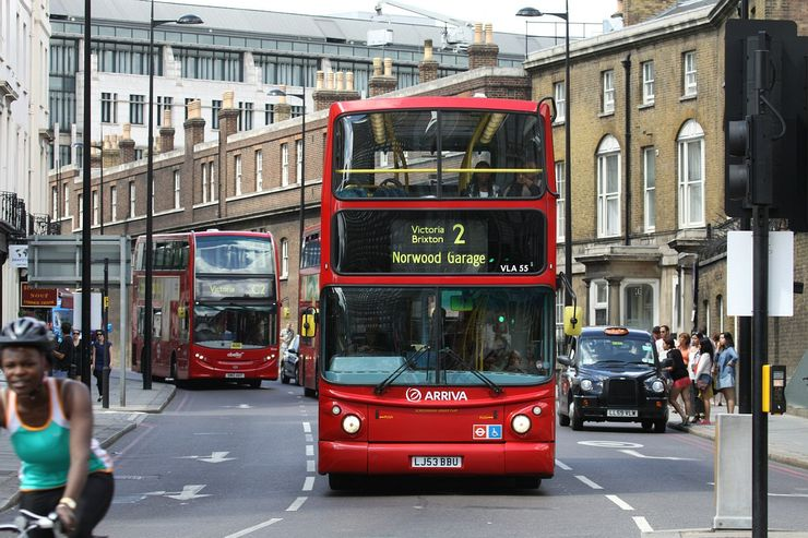 A great way to see the city: London's famous Double Decker Buses