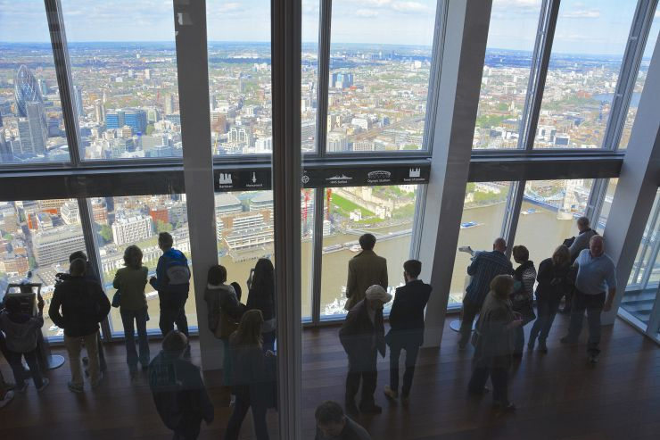The Shard Viewing Gallery
