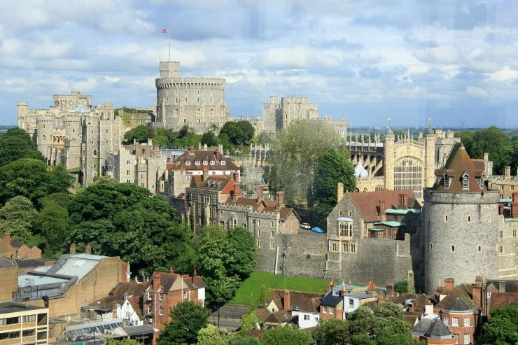 Overlooking Windsor Castle