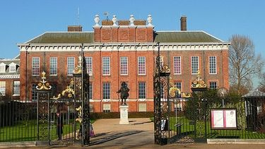 Gate to Kensington Palace in Kensington Gardens