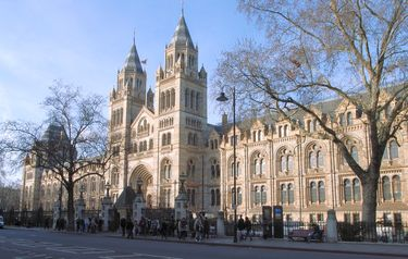 Exterior of the Natural History Museum