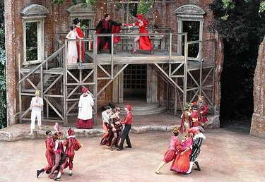 Romeo and Juliet at London's Open Air Theatre