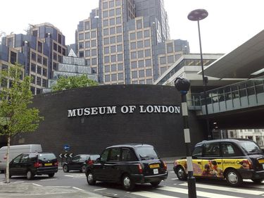 Entrance to the Museum of London