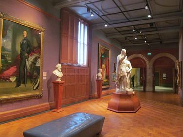 Inside the National Portrait Gallery of London