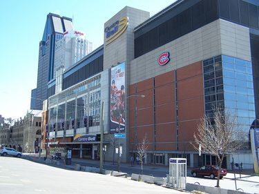 Entrance to Bell Centre