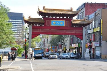 Entrance to Chinatown on Saint Laurent Boulevard
