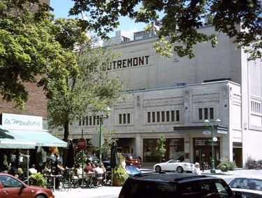 The Outremont Theatre on Bernard Avenue is a National Historic Site of Canada