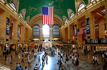 Main Hall in Grand Central Terminal New York