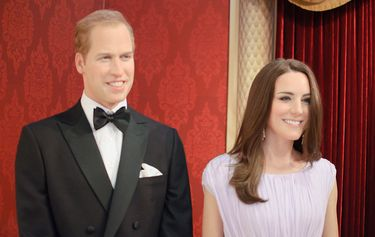 A recent addition of Will and Kate at Madame Tussauds in New York