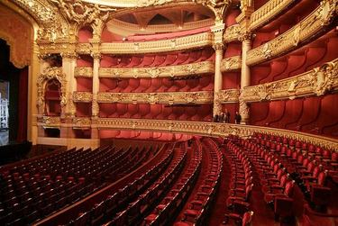Stunning interior of the Palais Garnier