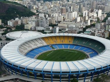 Aerial view of Maracana Stadium