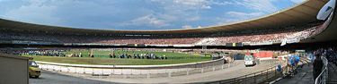 Panorama view of Maracana Stadium