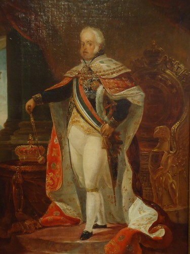 Portrait of King Dom John VI whose personal collection is a significant portion of the museums art