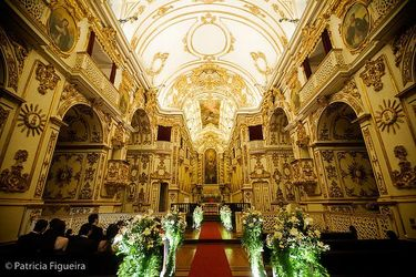 Inside the Old Cathedral of Rio de Janeiro