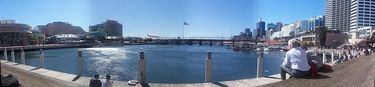 Pananoramic view of Darling Harbour