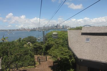 how to get to taronga zoo by ferry
