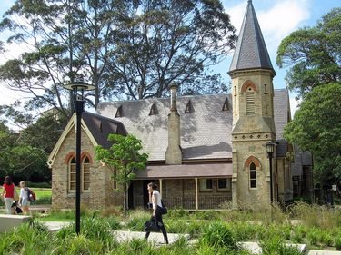 Old Darlington School circa 1877 saved from demolition and refurbished by the University of Sydney