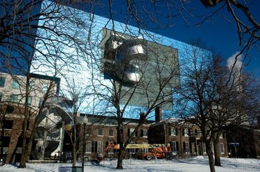 Back face of the Art Gallery of Ontario