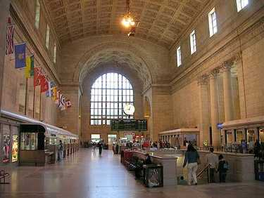 Inside Union Station's Great Hall
