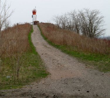 Path to the Lighthouse at the end of the Leslie Street Spit