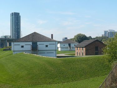 HIstoric Buildings at the Fort York National Historic Site