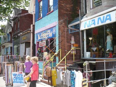 Outdoor Shopping at Kensington Market